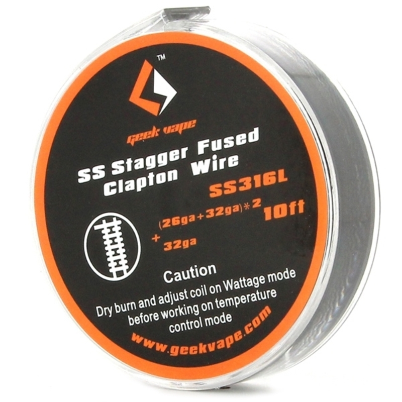 SS Stagger Fused Clapton - Geek Vape