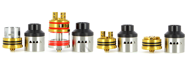 Plateaux interchangeables Atomiseur IJOY Limitless RDTA Classic Edition
