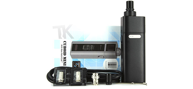Compositon du Kit Joyetech Cuboid Mini 80W