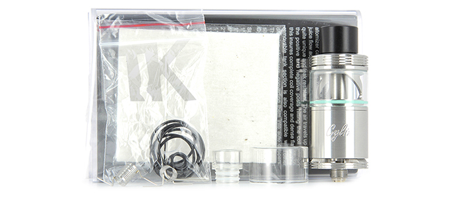 Composition du pack Atomiseur Cylin RTA Wismec