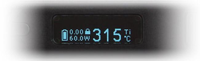 Ecran OLED Istick 60W TC par Eleaf