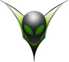 Alien Visions E-juice Logo