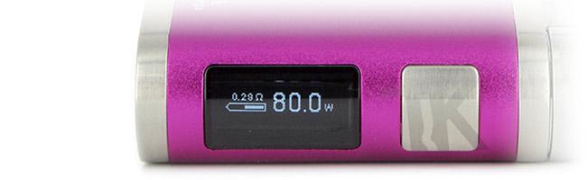 Plusieurs modes de fonctionnement iStick Pico Mega 80W Eleaf