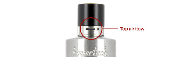 Top Air flow reglable - Protank 4 Kangertech