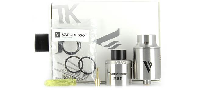 Composition du pack Vaporesso Transformer RDA