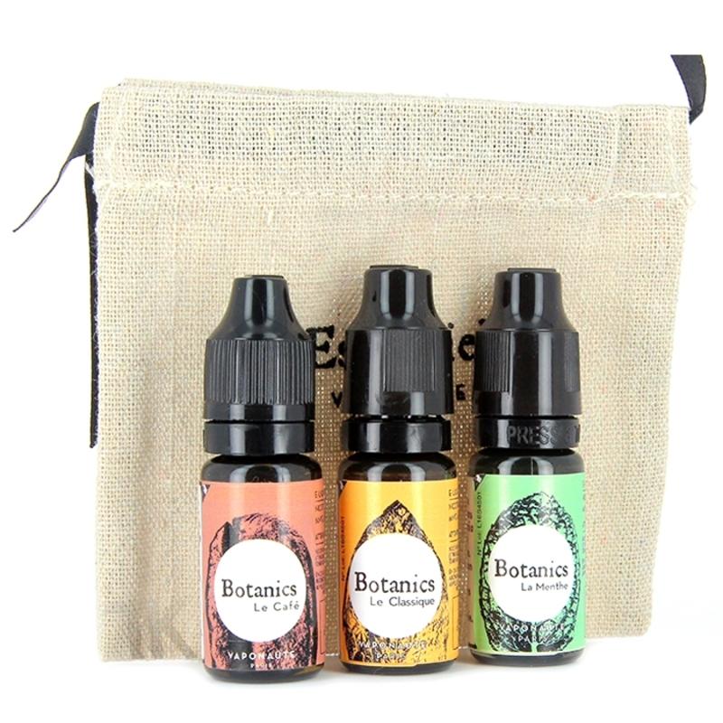 Pack E-liquide - Botanics