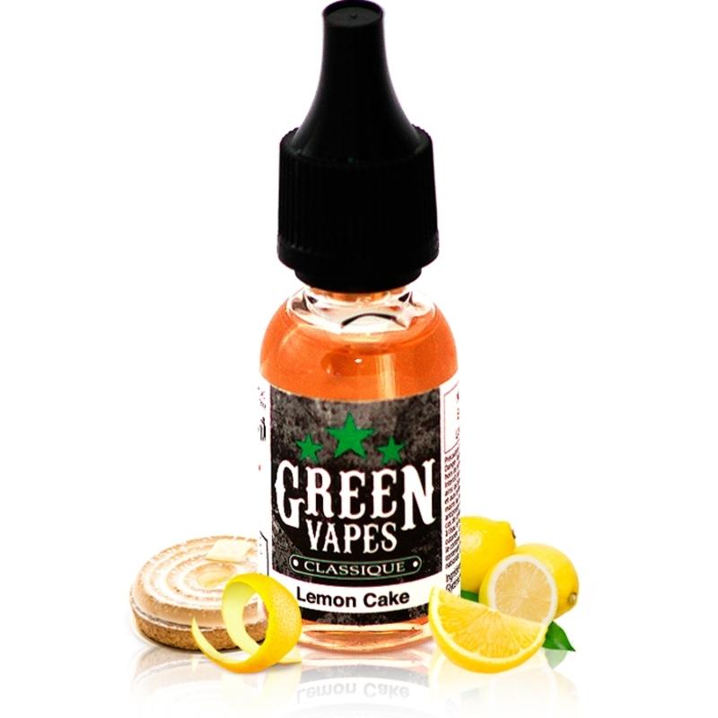 Lemon Cake - Green Vapes