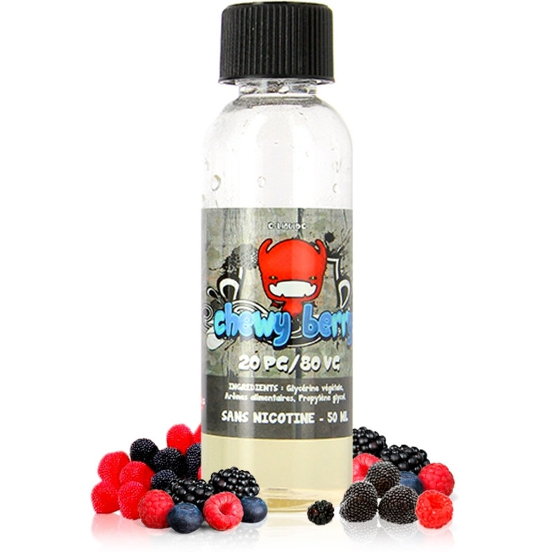 Base aromatisée 50 ml - Chewy Juices