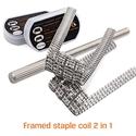 Framed Staple Coil 2 en 1 (x8) - Geek Vape