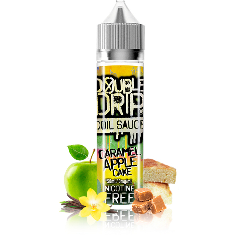 Caramel Apple Cake 50ml - Double Drip