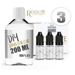 Pack Base 200ml Full VG - Revolute