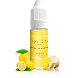 Tarte au citron meringuée - Liquideo Tentation