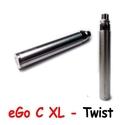 Batterie JoyeTech eGo C Twist XL Acier - 1000 mAh
