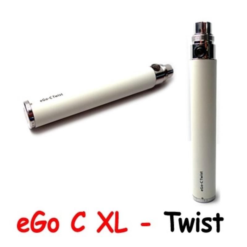 Batterie eGo C Twist XL Blanc JoyeTech - 1000 mAh