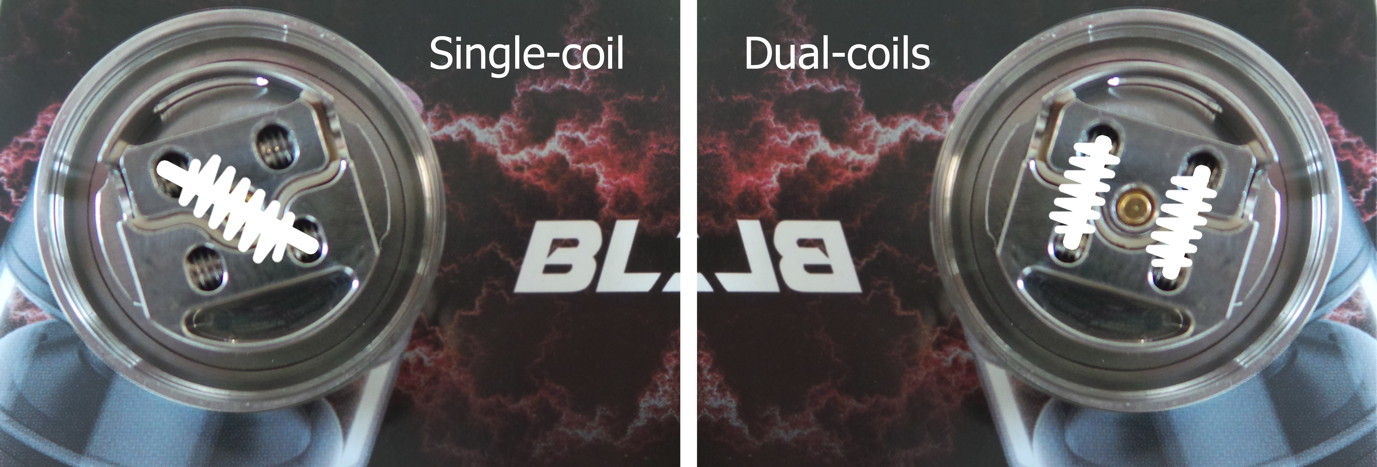 Blitzen single ou dual coil
