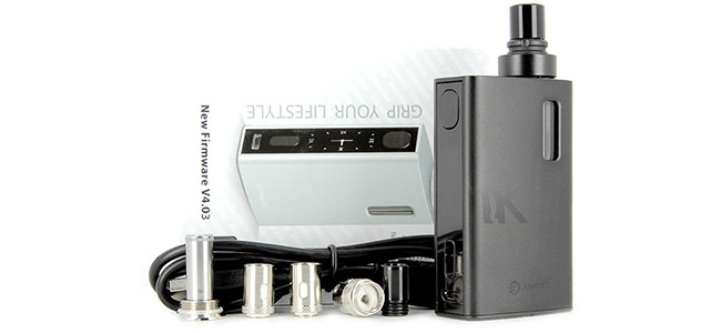 Pack complet Joyetech eGrip 2 VT 80W