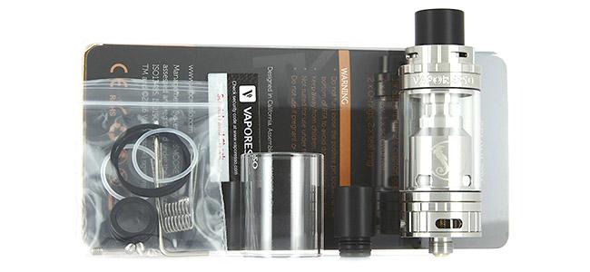 Pack Atomiseur Gemini RTA 3.5ml par Vaporesso
