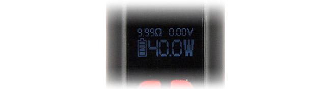 Target Mini 40W avec contrôle de température