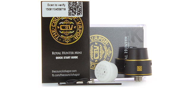 Composition du pack Royal Hunter Mini COV