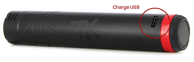 Charge USB Batterie Vision Spinner Plus 1500mAh