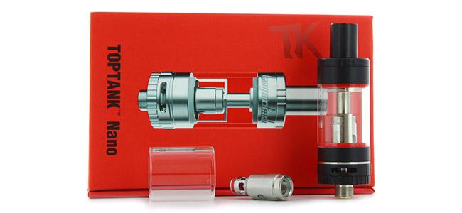 Contenu Clearomiseur TopTank Nano 3.2ml par Kanger