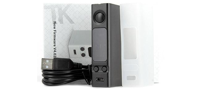 Contenu de livraison de la Box eVic VTwo Mini