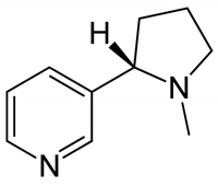 formule de la nicotine