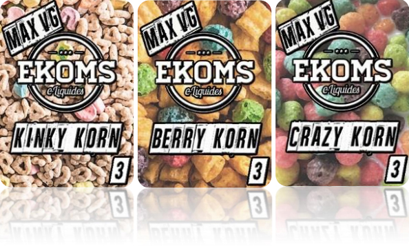 E-liquide Korn Cloud par Ekoms