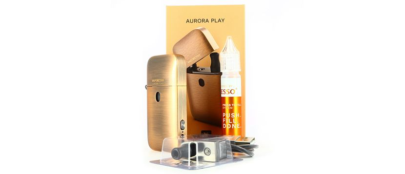 Composition du kit Aurora Play - Vaporesso